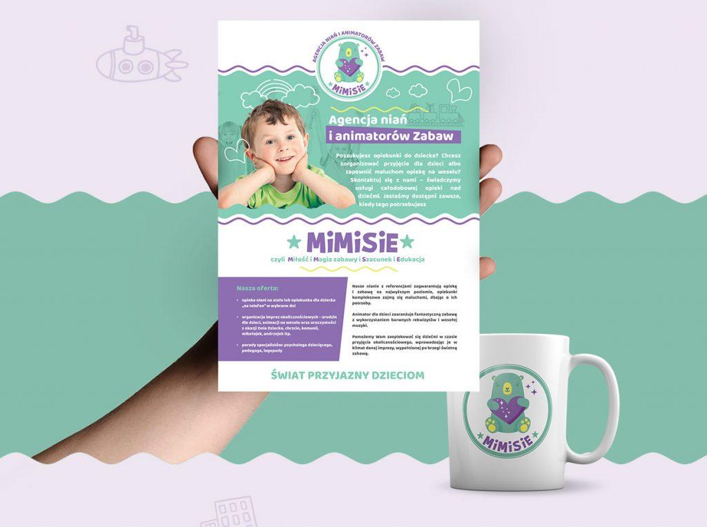 Logo i strona www – Mimisie