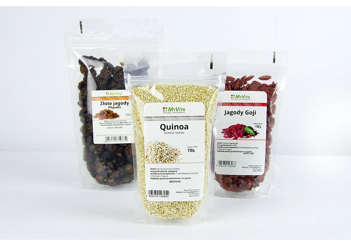projekt etykiety żywność ekologiczna