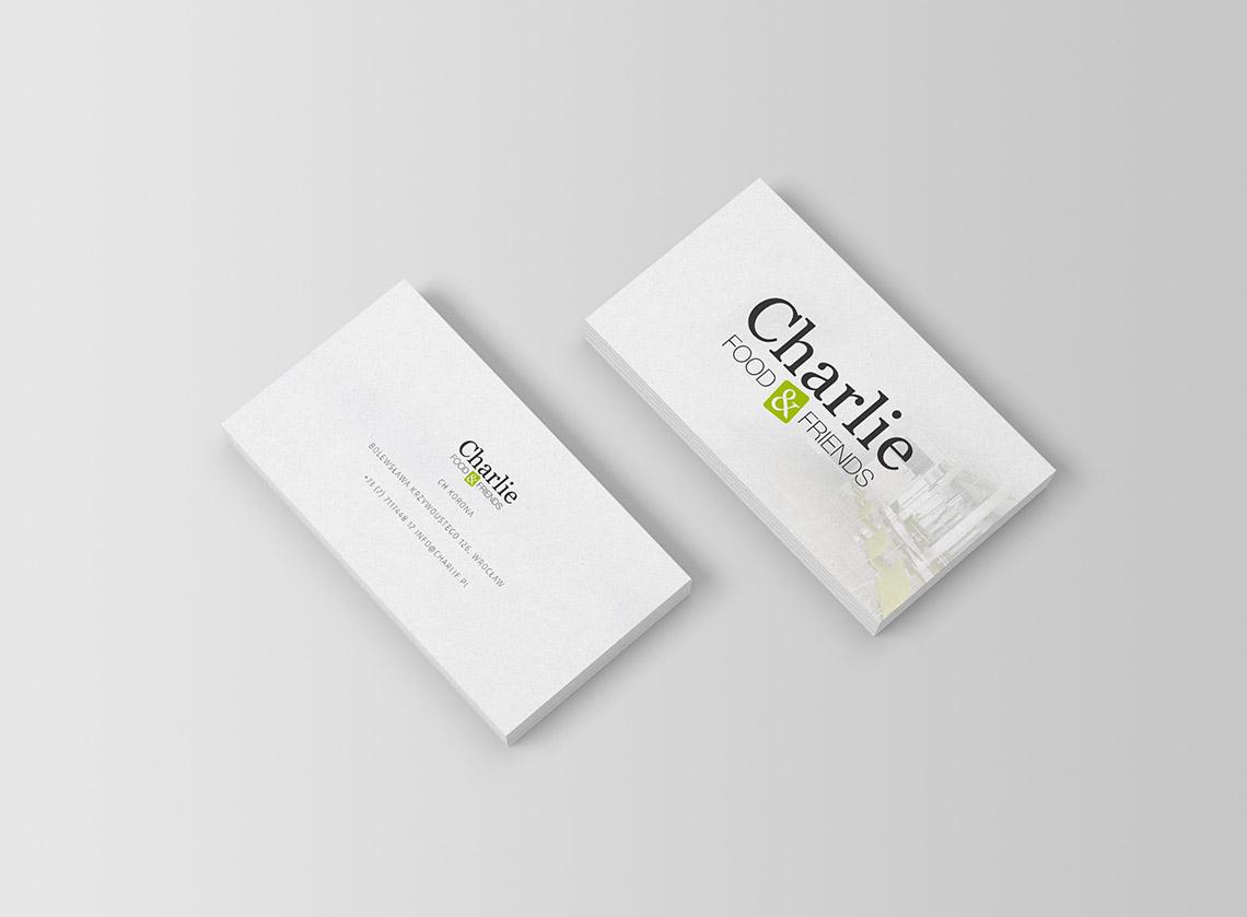 Projekt logo restauracja Charlie