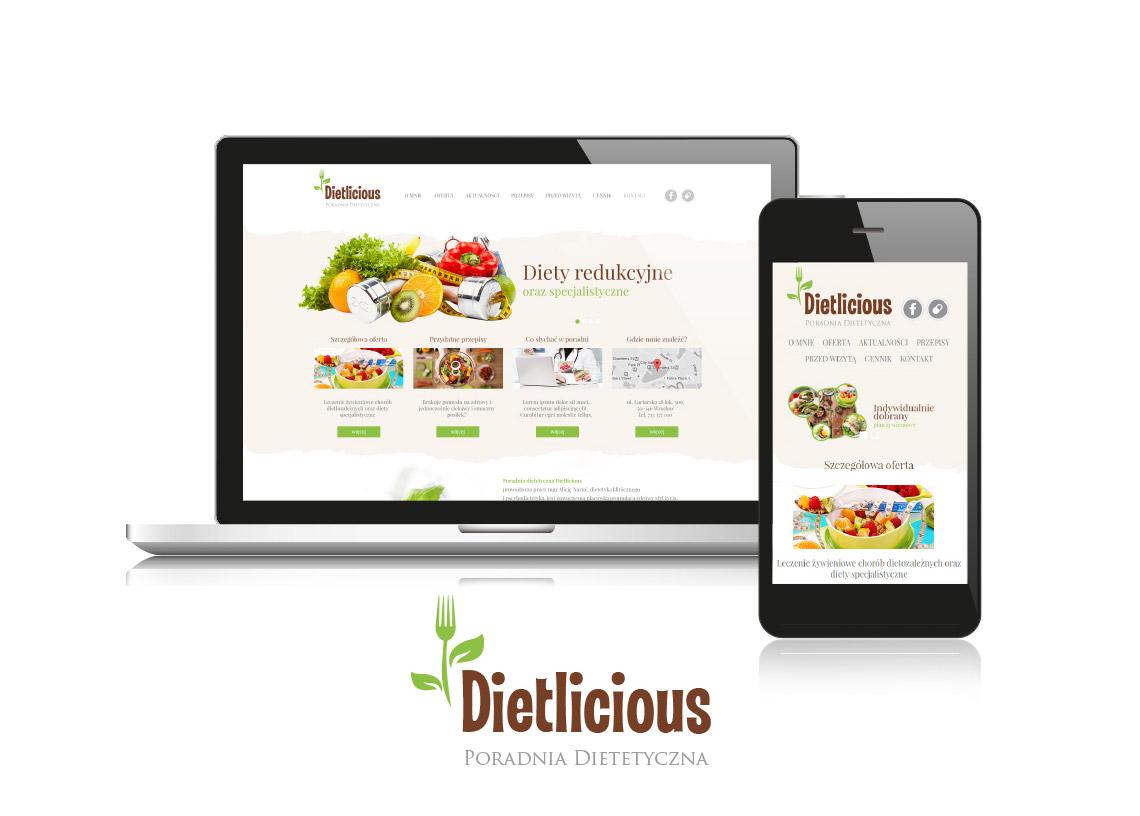 Projekt logo poradnia dietetyczna