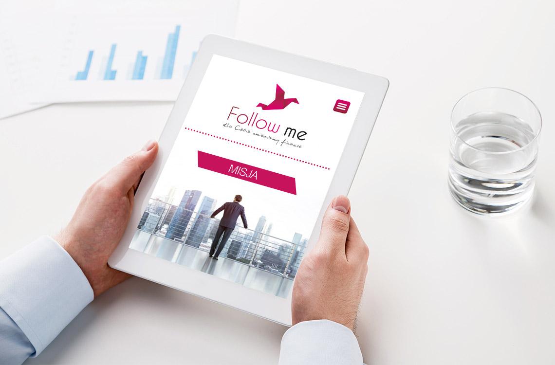 Strona www i projekt logo
