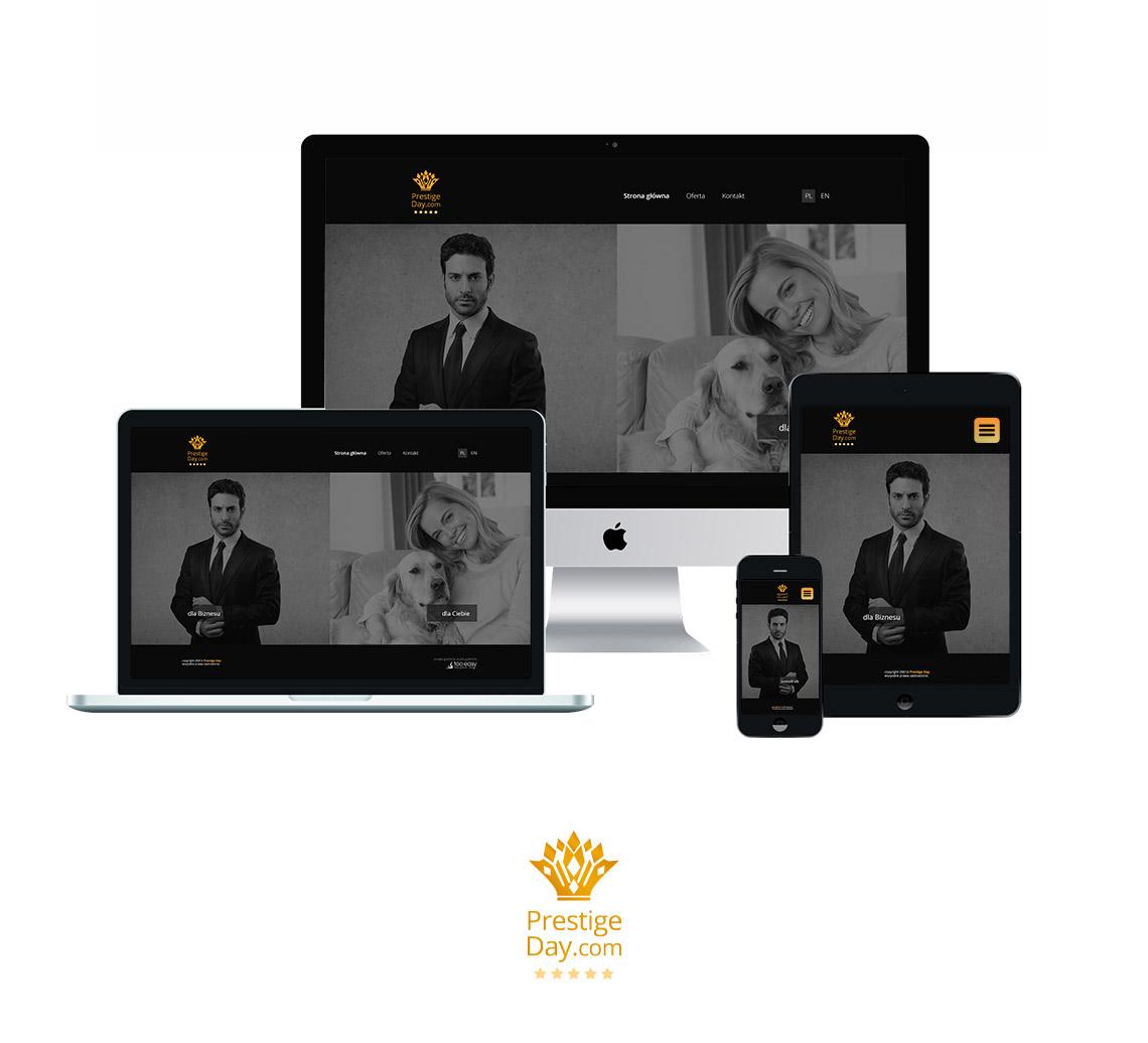 Projekt strony www i logo
