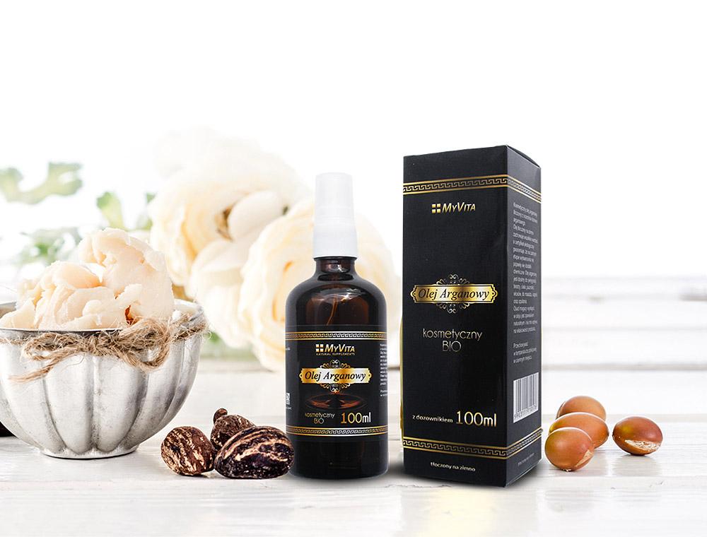 Projekt opakowania na olej arganowy