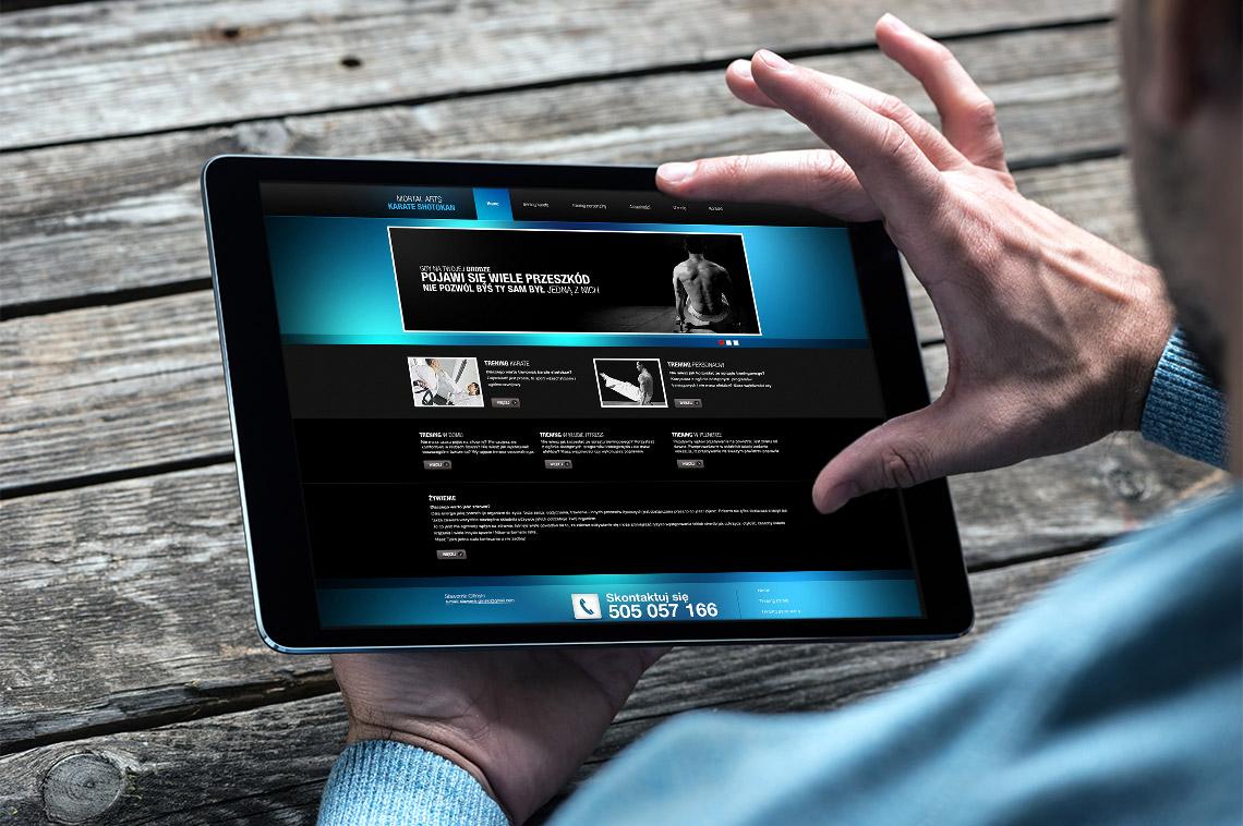 Strona www trening personalny