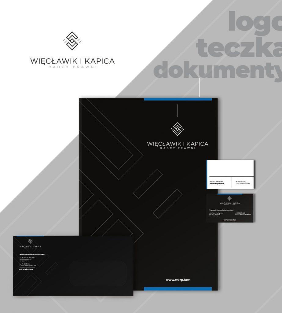 Projekt logo Radcy Prawni Więcławik i Kapica