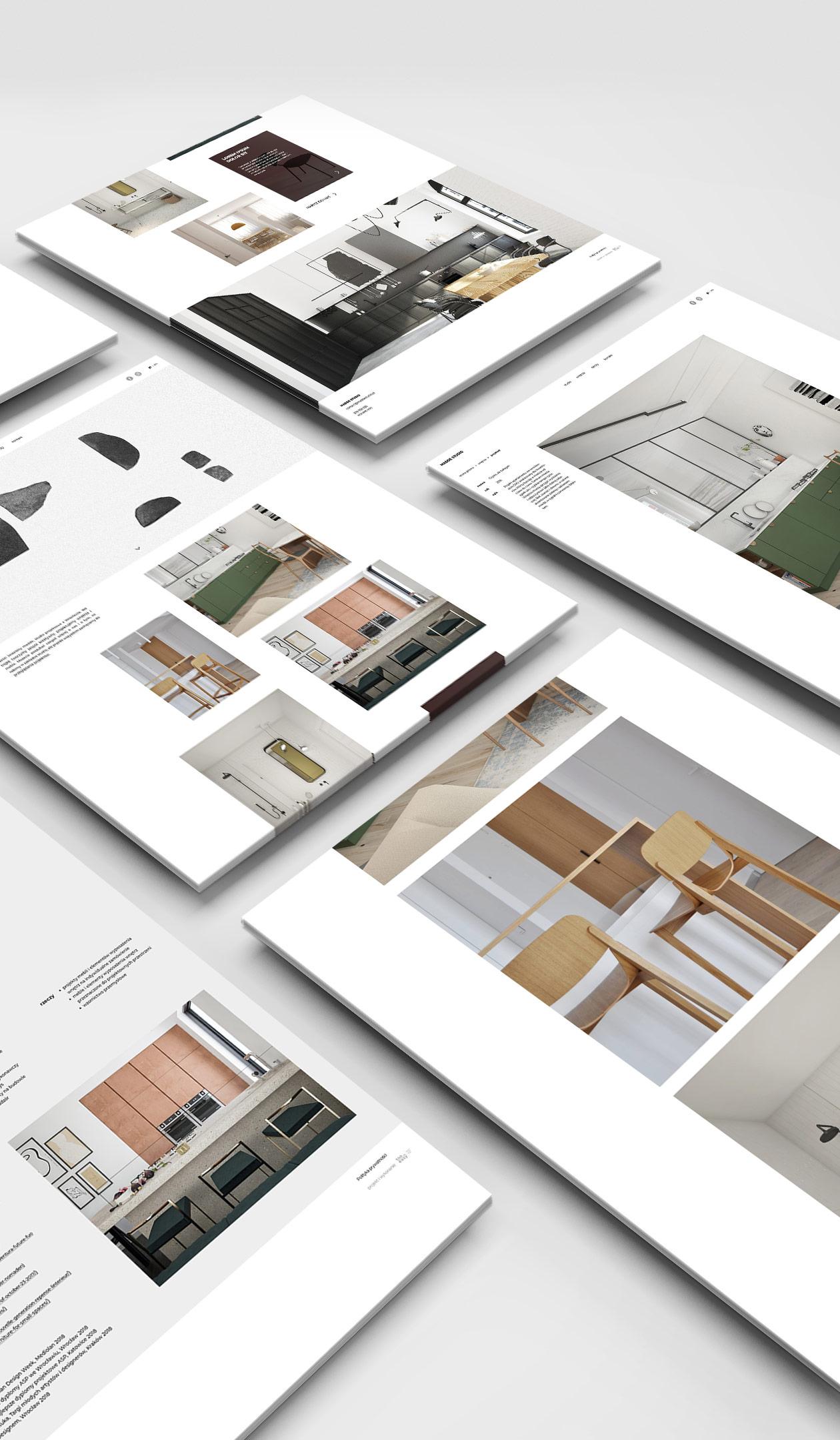 Strona www studio projektowe