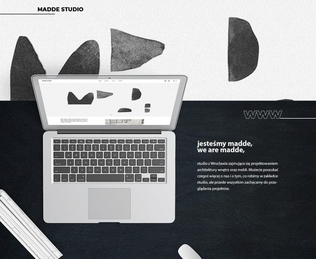 Strona www – Studio Projektowe
