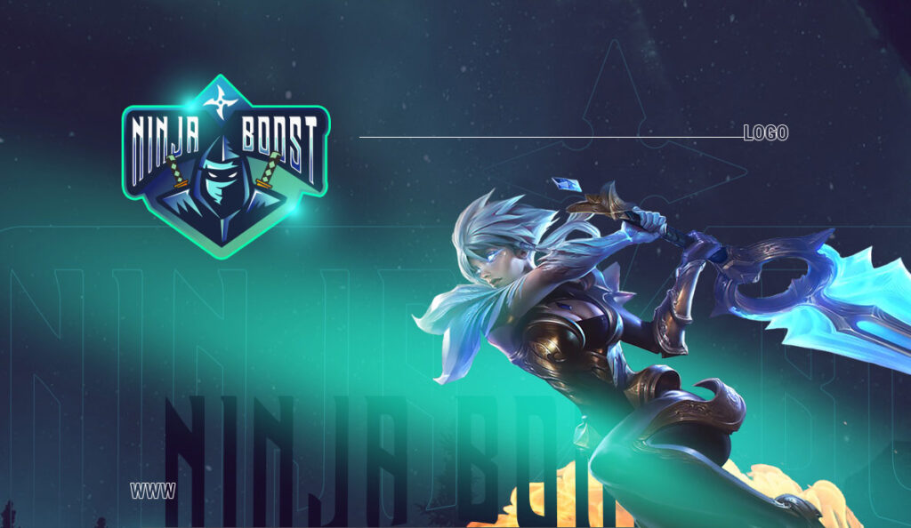 Logo i strona www – Ninja boost