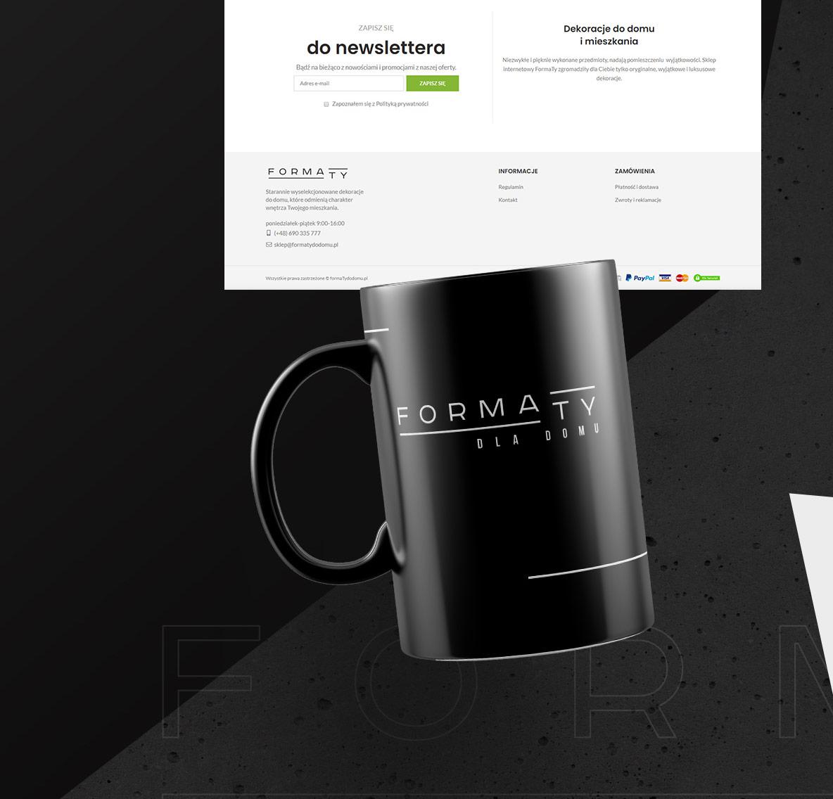 sklep internetowy i projekt logo